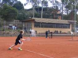 Yallambie Tennis Club, June, 2015.